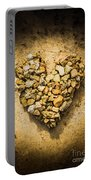 Rustic Rock Romance Portable Battery Charger