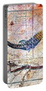 Rustic Seahorse Portable Battery Charger