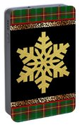 Rustic Snowflake-jp3689 Portable Battery Charger