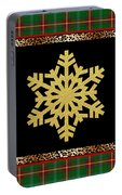 Rustic Snowflake-jp3692 Portable Battery Charger