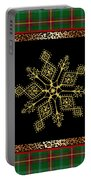 Rustic Snowflake-jp3696 Portable Battery Charger