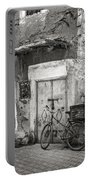 Rustic Street Scene Marrakech Portable Battery Charger