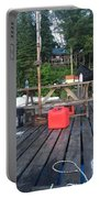 Rustic Summer Dock Portable Battery Charger