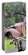 Rustic Truck Portable Battery Charger