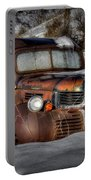 Rusting In Winter Portable Battery Charger