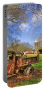 Rusty 1947 Dodge Dump Truck Portable Battery Charger