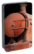 Rusty Abandoned Steam Locomotive Portable Battery Charger
