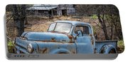 Rusty Blue Dodge Portable Battery Charger