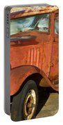 Rusty Chevrolet Pickup Truck 1934 Portable Battery Charger