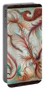Rusty Feathers Portable Battery Charger