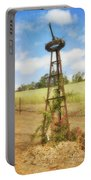 Rusty Garden Feature Portable Battery Charger