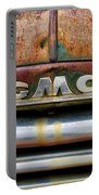 Rusty Gmc Truck Portable Battery Charger