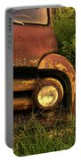 Rusty Gold  Portable Battery Charger