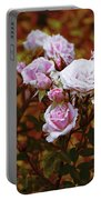 Rusty Romance In Pink Portable Battery Charger by Ivana Westin