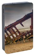 Rusty Shipwreck Portable Battery Charger
