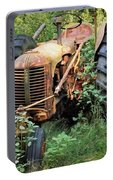 Rusty Tractor 3  Portable Battery Charger