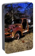 Rusty Truck Portable Battery Charger