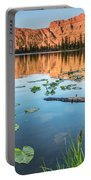 Ruth Lake Lilies Portable Battery Charger