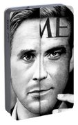 Ryan Gosling And George Clooney Portable Battery Charger