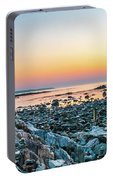 Rye, New Hampshire Sunrise Cairns Portable Battery Charger