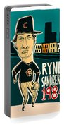 Ryne Sandberg Chicago Cubs Portable Battery Charger