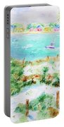 Sand Dunes Of Perdido Key Portable Battery Charger