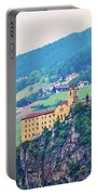 Saben Abbey On High Cliff Near Klausen View Portable Battery Charger