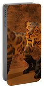 Saber-toothed Tiger Cave Portable Battery Charger