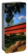 Sach's Covered Bridge Portable Battery Charger by Lois Bryan