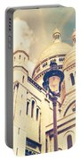 Sacre Coeur Church Vintage Shabby Chic Style Portable Battery Charger