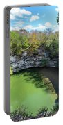 Sacred Cenote In Chichen Itza Portable Battery Charger
