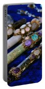 Sacred Gemstones Energy Amulets Crystal Balls Magic Wands Portable Battery Charger