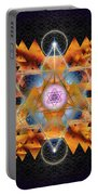 Sacred Geometry 701 Portable Battery Charger