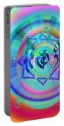 Sacred Healing Rays Of Cho Ku Rei Portable Battery Charger