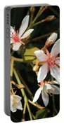 Sacred Heart Flowers Portable Battery Charger