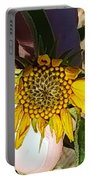 Sacred Sunflower Portable Battery Charger