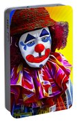 Sad Clown Portable Battery Charger