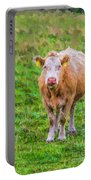 Sad Cow - Painterly Portable Battery Charger