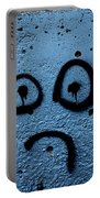 Sad Graffiti Portable Battery Charger