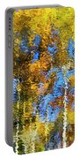 Safari Mosaic Abstract Art Portable Battery Charger