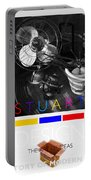 Safari Poster Portable Battery Charger