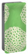 Sage Garden Bloom Portable Battery Charger by Linda Woods