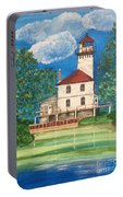 Saginaw River Light Portable Battery Charger