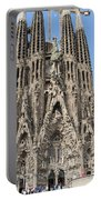 Sagrada Familia - Gaudi Designed - Barcelona Spain Portable Battery Charger