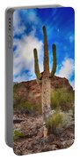 Saguaro Cactus Portable Battery Charger