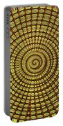 Saguaro Cactus Top Abstract #4 Portable Battery Charger