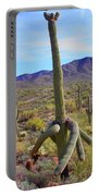 Saguaro With Down Twist Portable Battery Charger