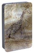 Saharan Rock Painting Portable Battery Charger
