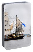 Sail Boston Picton Castle And Jolie Brise Portable Battery Charger