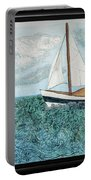 Sailboat Daydream Portable Battery Charger